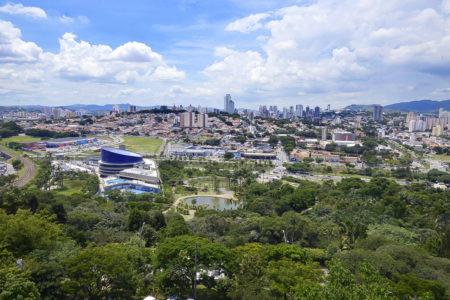 Foto panorâmica de Jundiaí