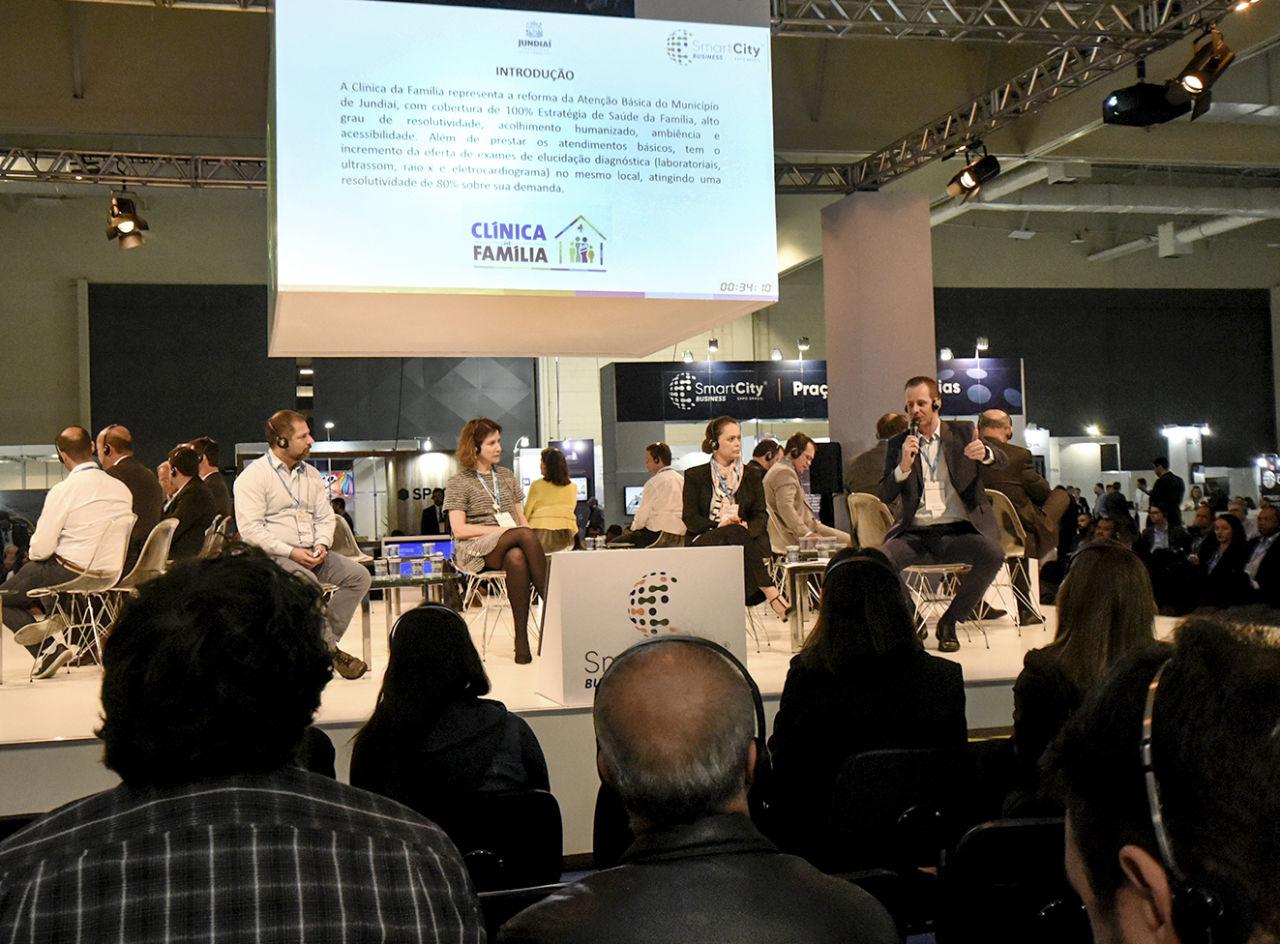 Tiago Texera, gestor da Unidade de Gestão de Promoção da Saúde (UGPS), apresentou modelo de Jundiaí