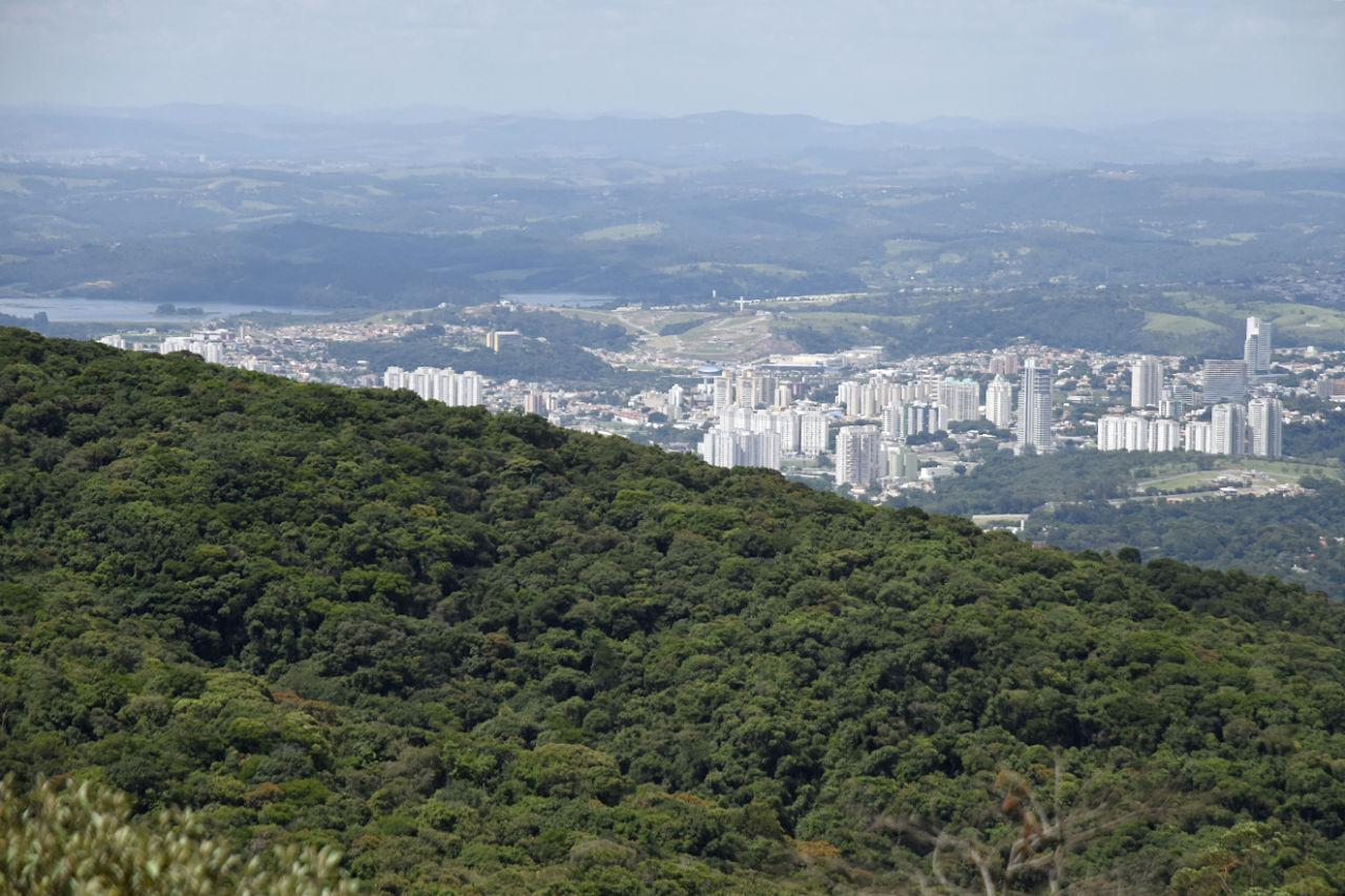 Vista da Serra do Japi