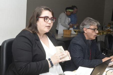 Marcela Moro tratou de vários temas na reunião desta quinta-feira
