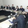 Prefeito Luiz Fernando Machado conversa com representantes das cidades do Circuito das Frutas