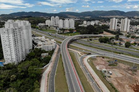 Viaduto das Valquírias terá a pista sentido-Vetor Oeste aberta ao tráfego no dia 20 de outubro