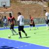 Festival do Peama teve partidas realizadas na quadra externa do Romão de Souza