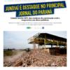 Jornal Gazeta do Povo soltou matéria positiva sobre o trabalho com resíduos de construção em Jundiaí