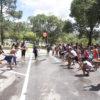 Crianças brincando no Parque do Trabalhador