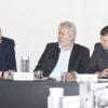 Gestor Parimoschi, Paulo Galli e o presidente da CPTM, Pedro Moro