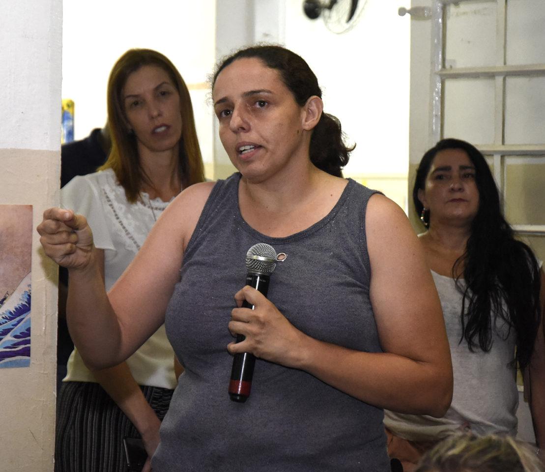 Naiade pediu ao prefeito melhorias na EMEB Maria Aparecida de Souza Almeida