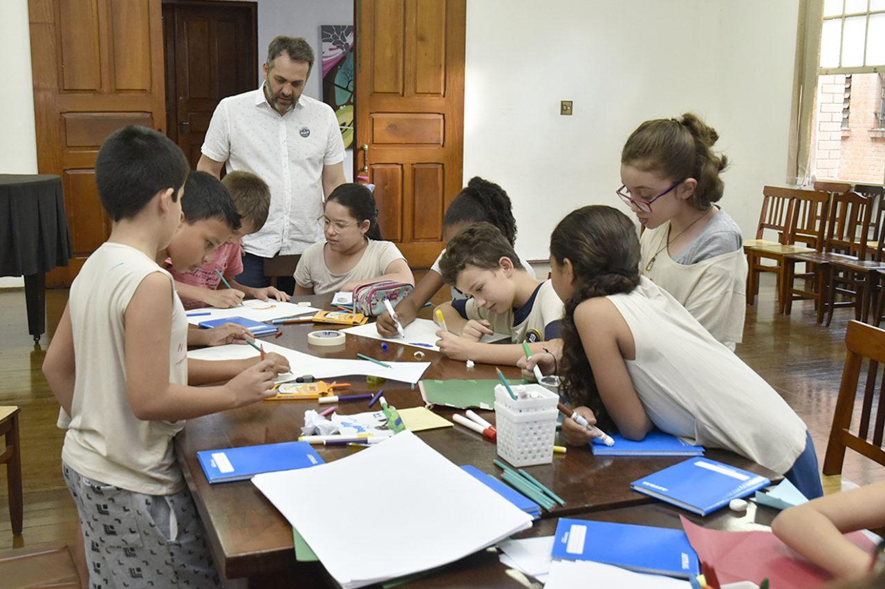Gestor Marcelo Peroni comandou o encontro deste sábado no Complexo Fepasa