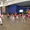 Pavilhão 2 do Parque da Uva teve aula de zumba com a temática do Dia Mundial da Luta contra a AIDS