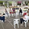 Domingo no Parque Especial teve roda de conversa sobre ativismo pelo fim da violência contra as mulheres