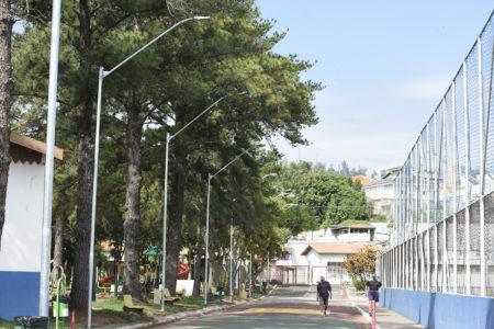 Munícipes terão um espaço no Dal Santo para caminhada com luz artificial