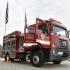 Novo caminhão dos Bombeiros de Jundiaí possui uma bomba de incêndio que pode disponibilizar, por minuto, o equivalente a 750 galões de água
