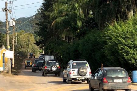 Pessoas não podem ocupar a Serra do Japi com excesso de carros e descumprir a lei