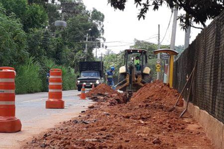 Serviço será realizado no trecho entre a empresa Nipotec e a avenida Antonio Maziero.