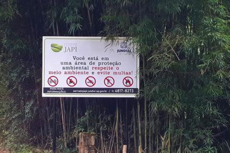 Objetivo é conscientizar os visitantes para que preservem o maior patrimônio ambiental de Jundiaí