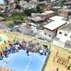 Luiz Fernando e população do São Camilo comemoram área de lazer à disposição da comunidade