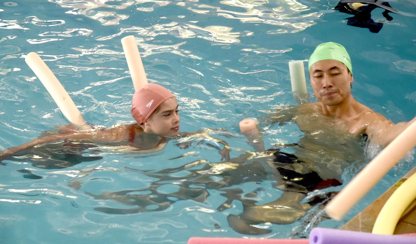 Natação, vôlei e atletismo também são modalidades praticadas pelos alunos do Peama