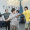 Alunos do programa da Prefeitura de Jundiaí ensaiam coreografia na aula de dança