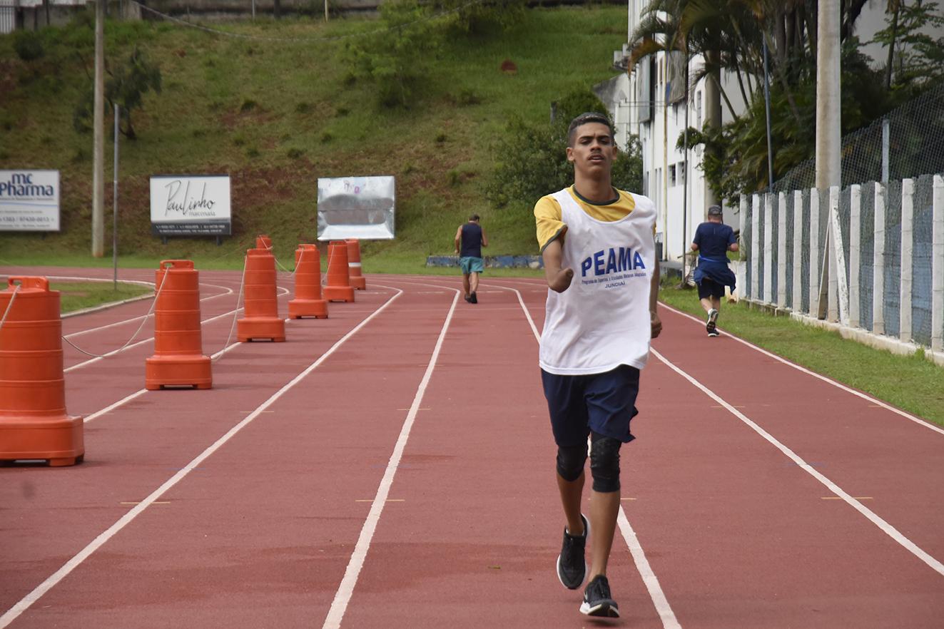 Thomaz Ruan treina na pista do Bolão e no Centro Paralímpico em São Paulo