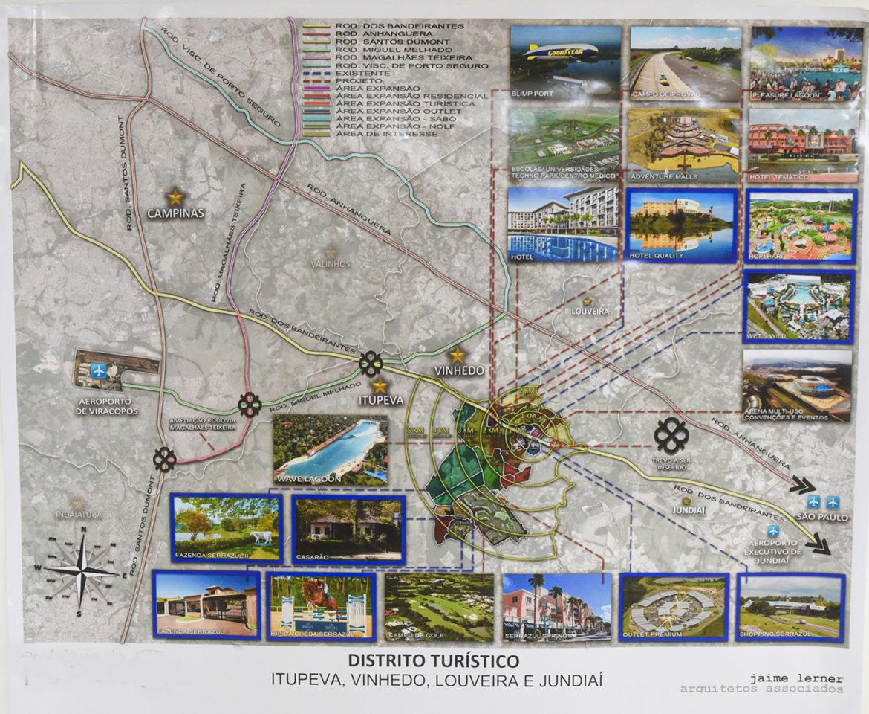 Primeiro Distrito Político do estado de SP inclui Jundiaí, Louveira, Vinhedo e Itupeva