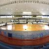 Ginásio do Bolão, no CECE Nicolino de Lucca, é um dos palcos de aulas de vôlei e basquete