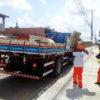 Cidade Limpa percorreu nesta segunda (16) oito locais de Jundiaí para recolher materiais inservíveis