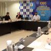 Prefeito Luiz Fernando Machado anuncia detalhes do decreto 28.923/2020 ao lado de membros do Comitê de Enfrentamento ao Coronavírus (CEC)