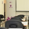 Sala de aula do Fundo Social vazia