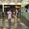Terminal Central foi um dos espaços públicos de Jundiaí desinfectados pela Prefeitura