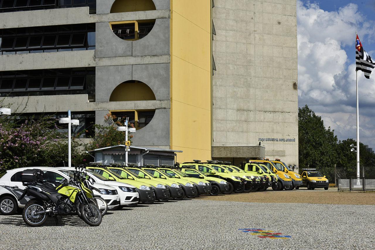 Agentes de trânsito de Jundiaí ganharam 22 novos veículos