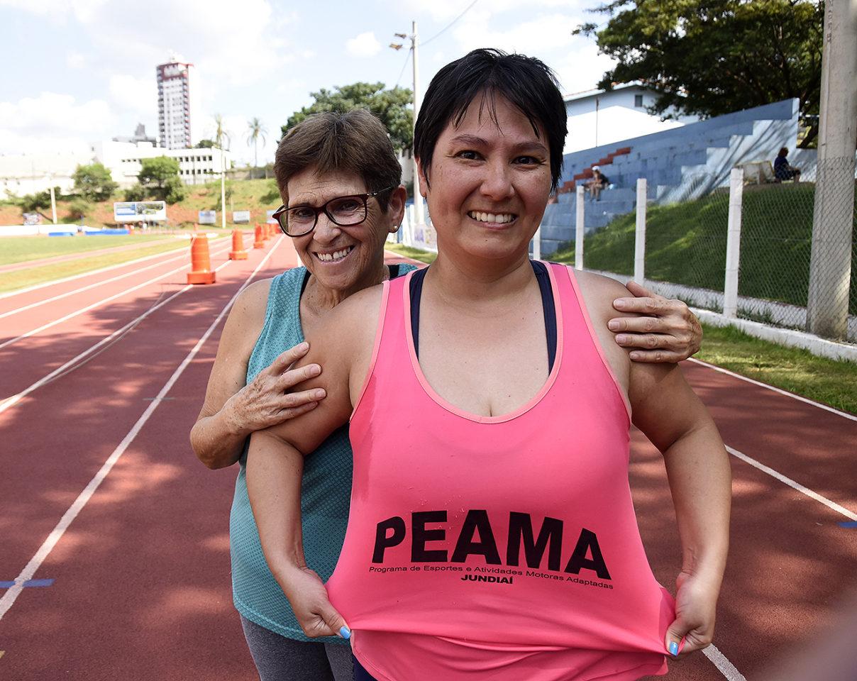 Sônia e a filha Mariana têm amor incondicional pelo PEAMA