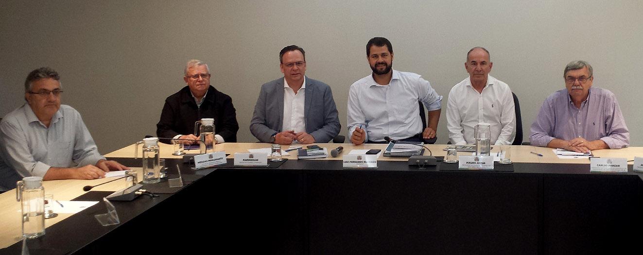 Prefeito Luiz Fernando e gestores de Jundiaí receberam visita de dirigentes do Sest Senat