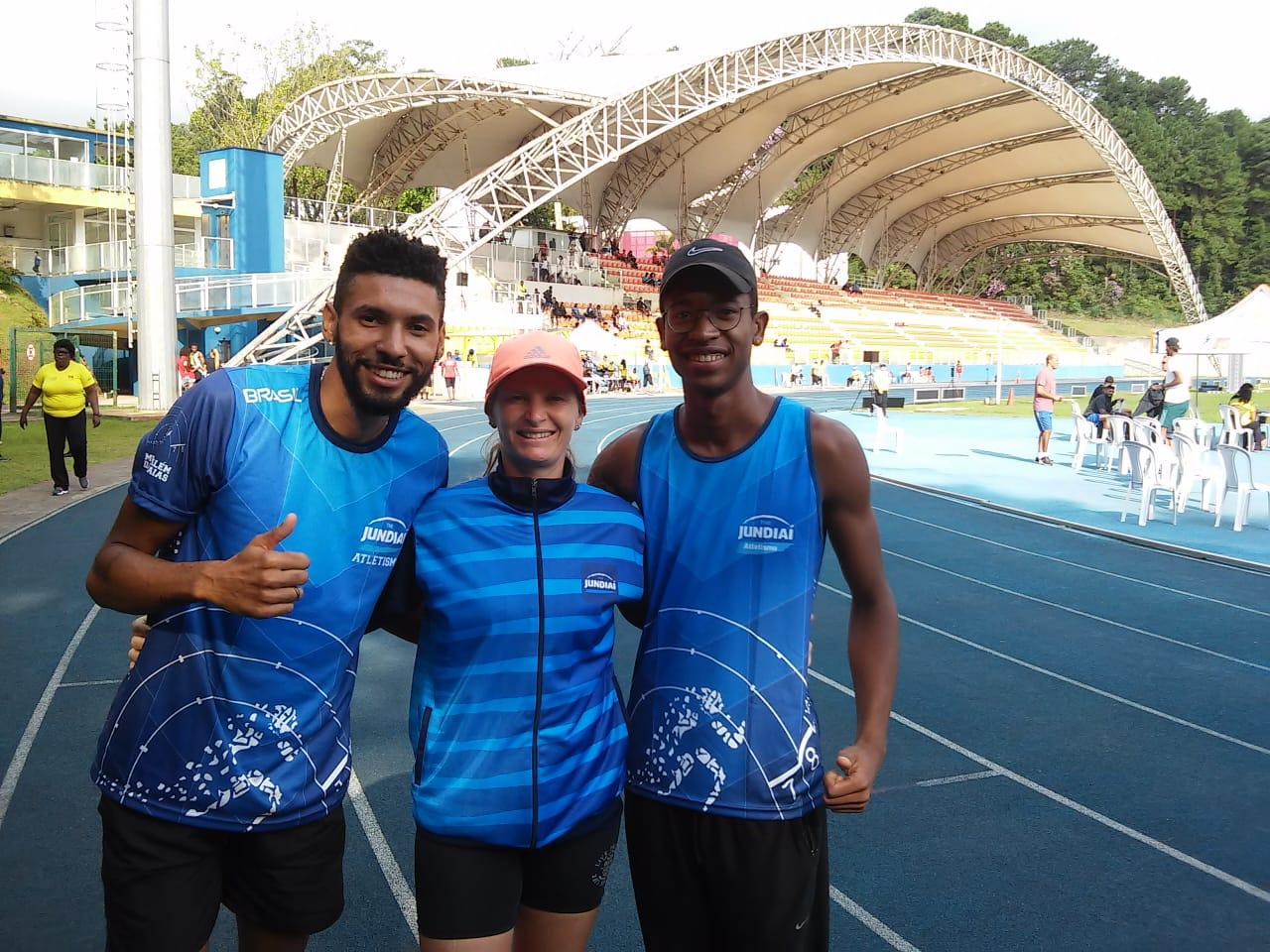 Wesley, Gislaine e Augusto representarão Jundiaí nos Jogos Abertos do Interior, em outubro