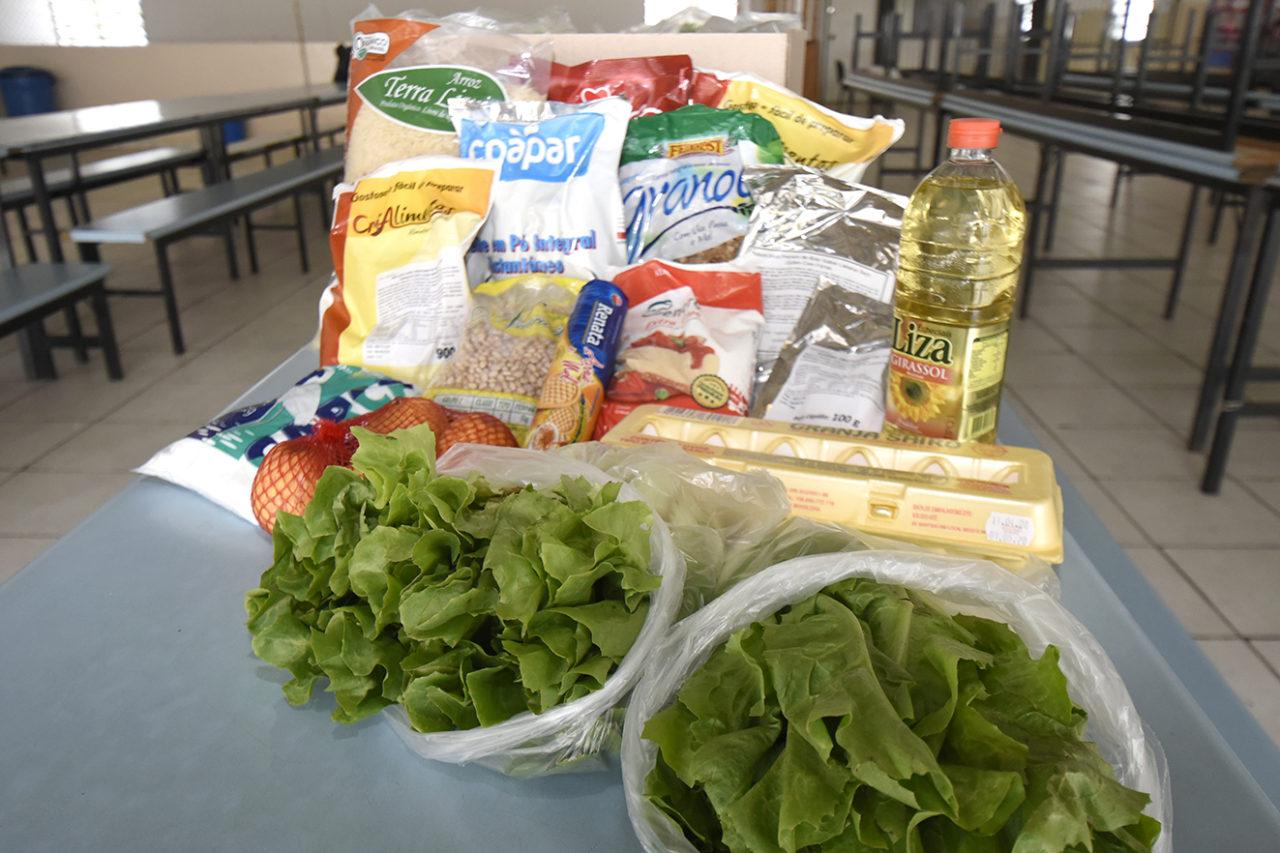 Segunda entrega do kit alimentação é realizada nas EMEBs | Notícias