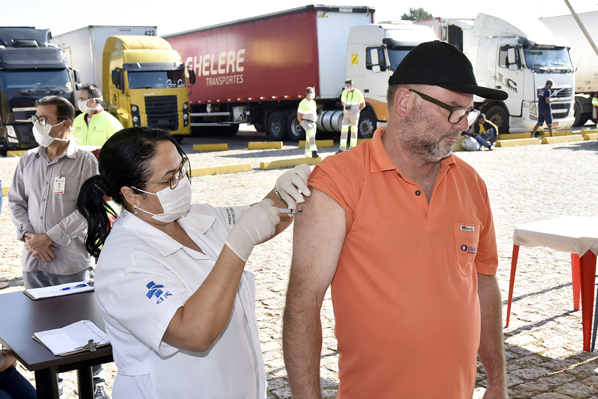 The vaccination of truck drivers is extended until Friday (24) on the Bandeirantes Highway |  News