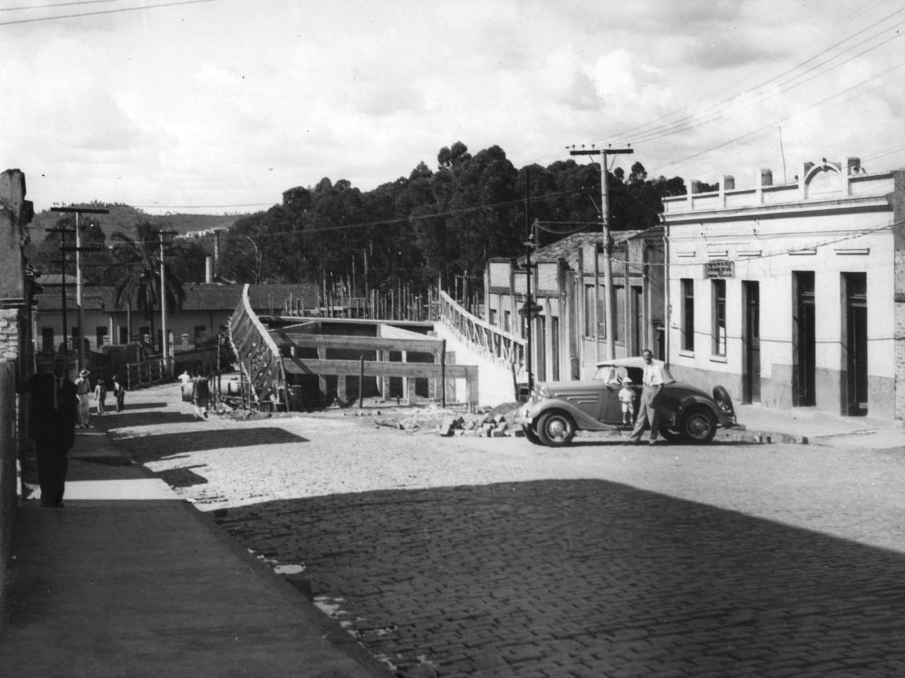 Construção do viaduto São João Baptista foi um marco na história de Jundiaí