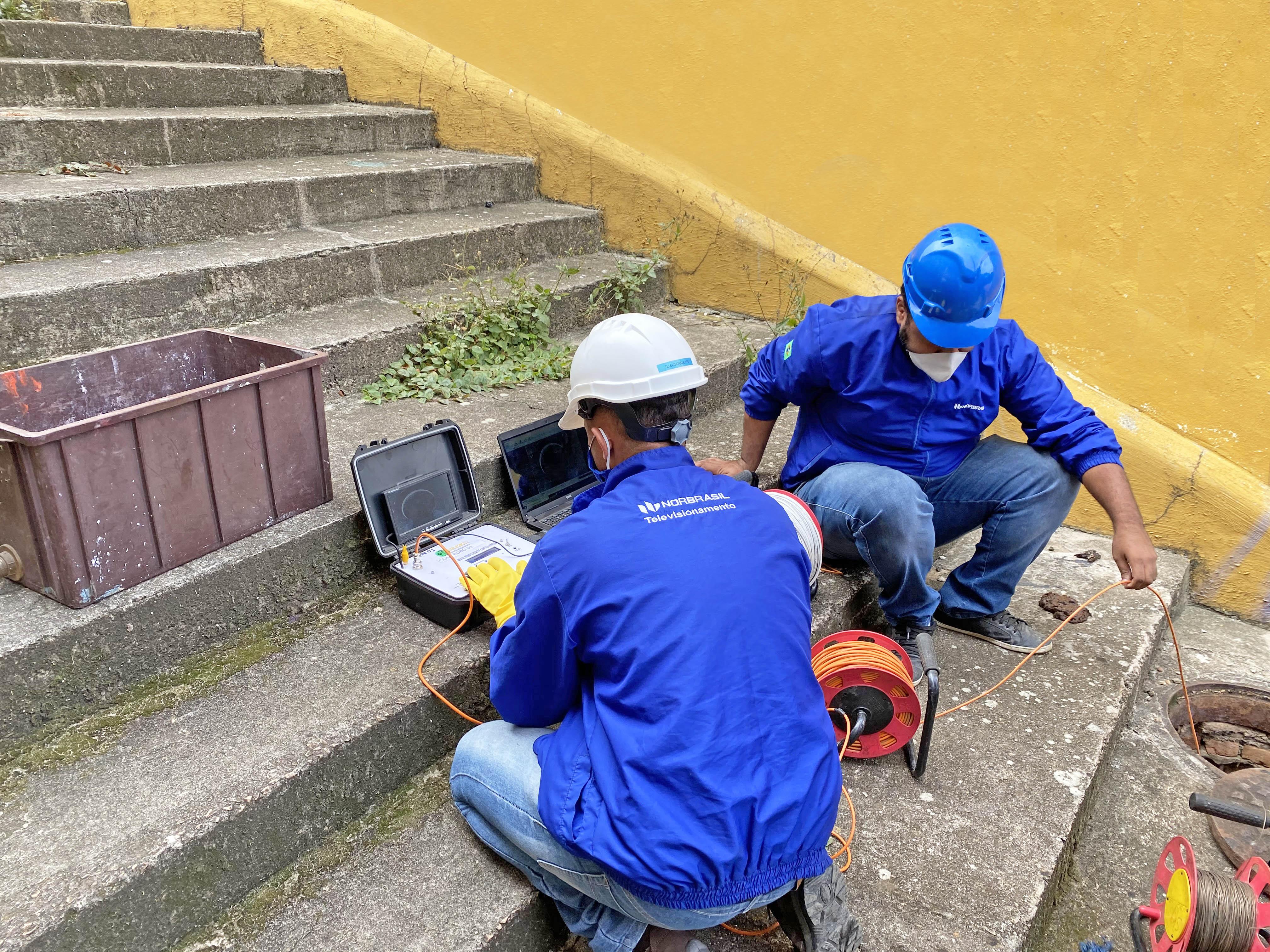 Contrato prevê um conjunto de dispositivos eletrônicos, que vão possibilitar a inspeção e diagnóstico da situação operacional dos coletores de esgoto, por meio de circuito fechado de televisão.