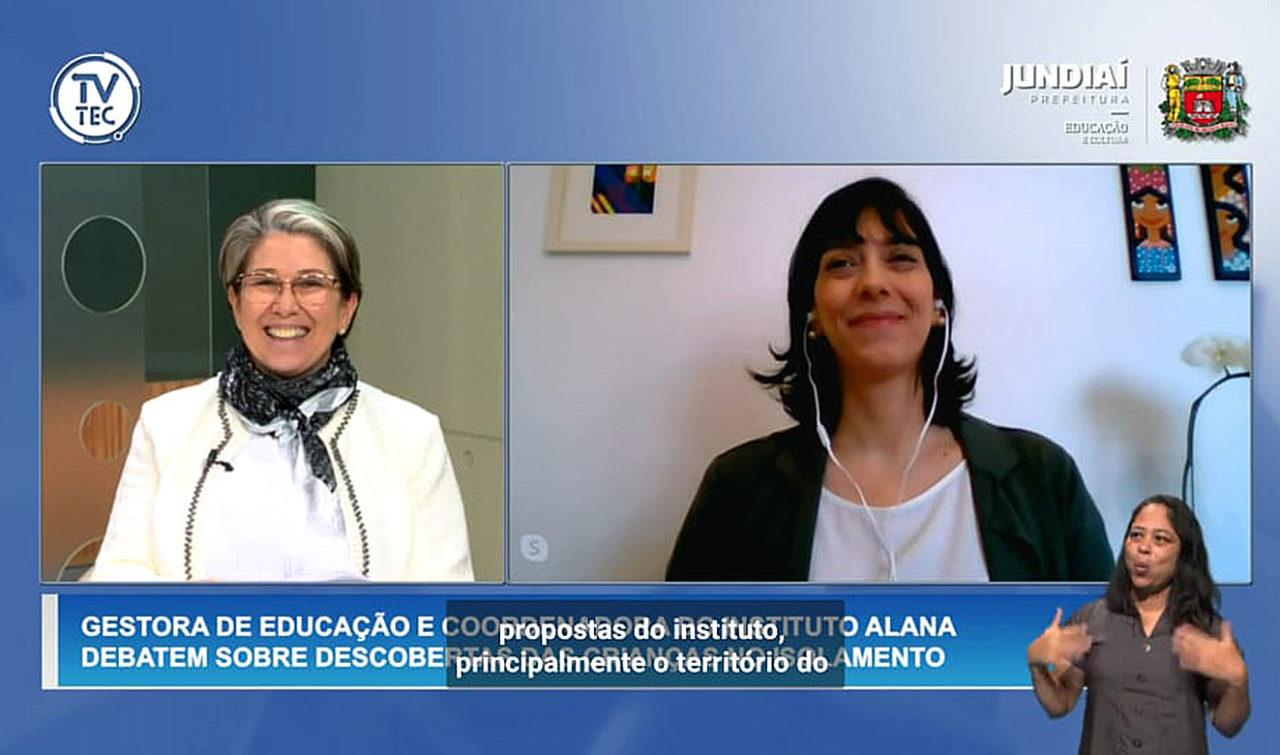 """Vastí e Raquel participaram de evento virtual sobre """"Educação em tempos de pandemia"""""""