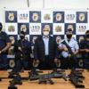 Novas armas ajudarão a GM a combater o crime e oferecer mais segurança à população