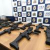Dezoito carabinas .40 foram adquiridas com recurso do Finisa, do Governo Federal