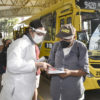 Terminal Central recebeu nesta terça profissionais de Saúde de Jundiaí