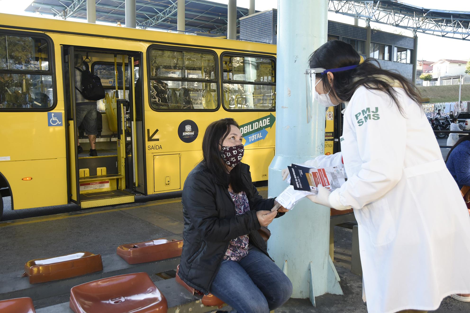 Ação de conscientização vai ocorrer nos sete terminais urbanos de Jundiaí