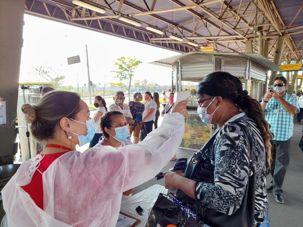 """Segunda fase do programa """"Ação Saúde nos Terminais"""" termina nesta terça no Terminal Rami"""
