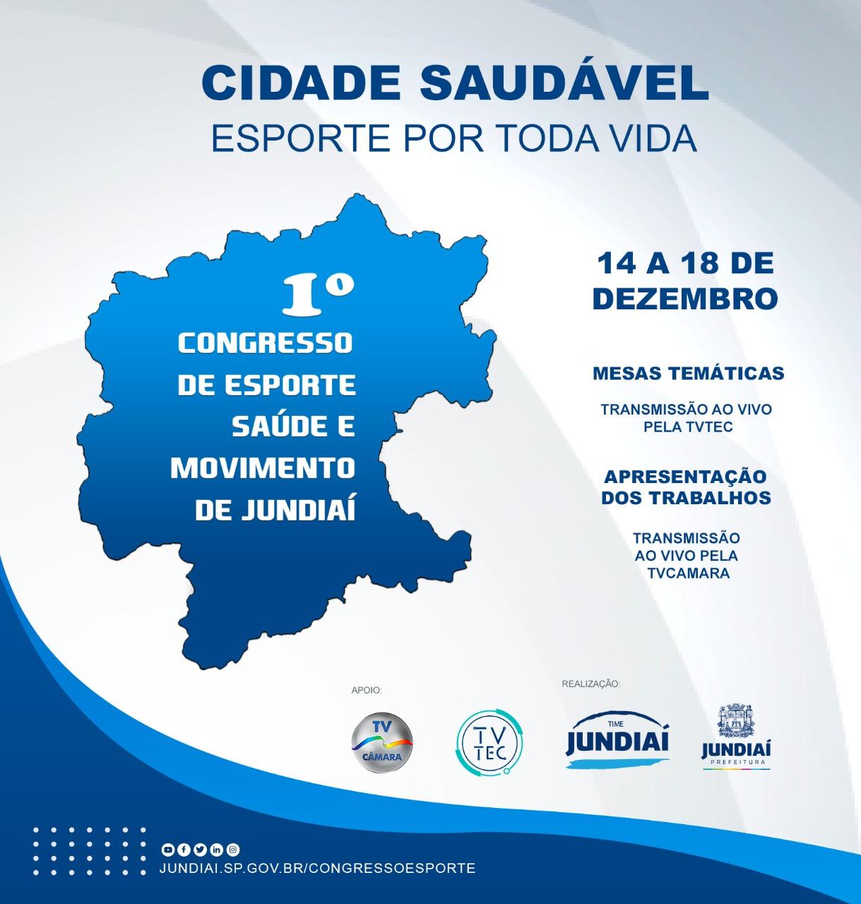 Congresso acontece de 14 a 18 de dezembro de forma virtual