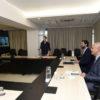Luiz Fernando e Douglas Medeiros participaram de videoconferência com secretária nesta terça-feira