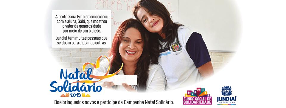 Campanha Natal Solidário 2019