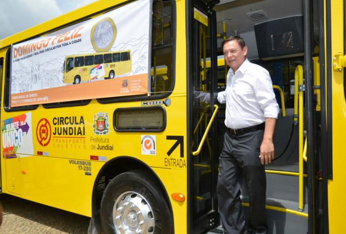 Pedro Bigardi, ônibus, Tarifa Social, Circula Jundiaí