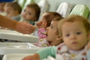 Crianças de quatro meses a 3 anos podem ser inscritas