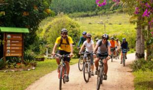 O apoio ao projeto de cicloturismo cresce entre as cidades do Circuito das Frutas