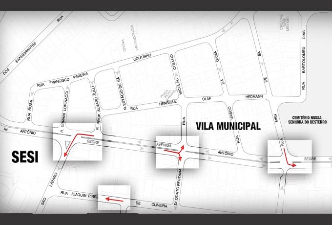 Mapa trânsito Vila Municipal _Jardim Brasil
